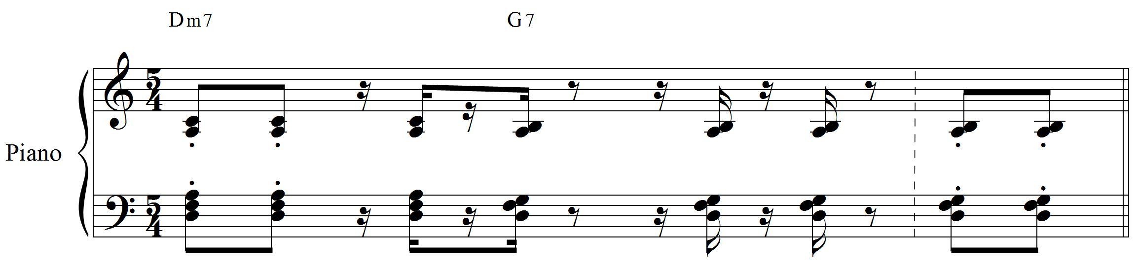Piano em 5