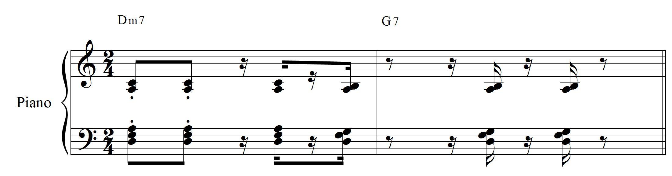 Piano tradicional