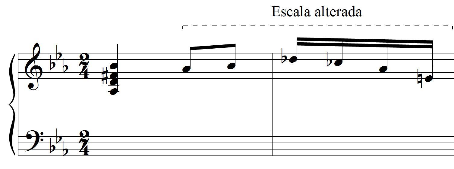 melodia alterada